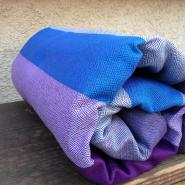 Mermaid Cove Plum Weft Diamond Weave Cotton Baby Wrap